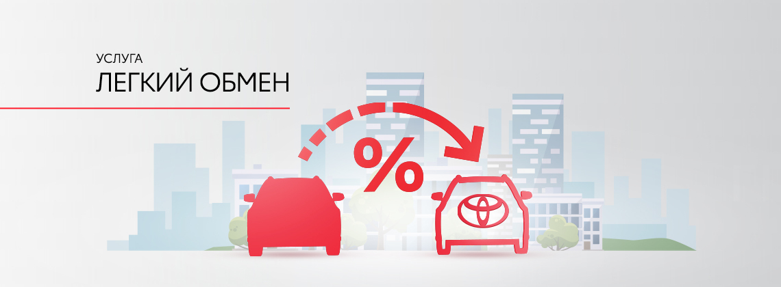 Обмен кредитных автомобилей «Легкий обмен»